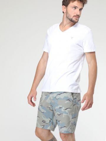 מכנסי ברמודה קמופלאז'
