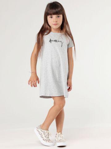 שמלת טישירט עם הדפס