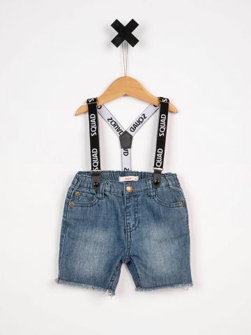ג'ינס ברמודה שלייקסים/בייבי בנים