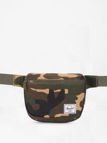פאוץ' חגורה קמופלאז' עם פאץ' לוגו