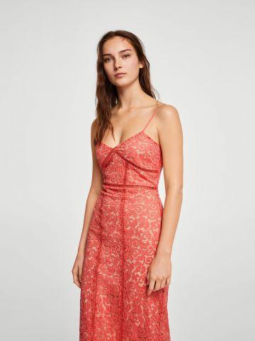 שמלת תחרה מידי