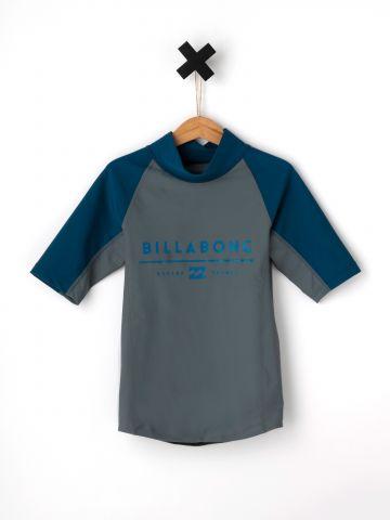 חולצת גלישה פאנל לוגו All Day Unity / בנים