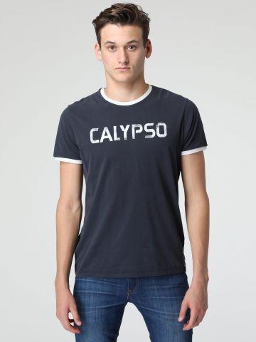 טי שירט Calypso עם שוליים בולטים