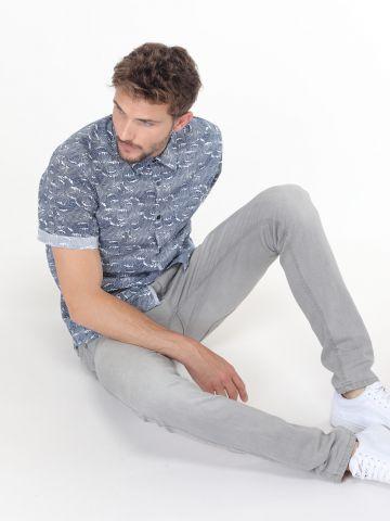 ג'ינס סקיני ווש