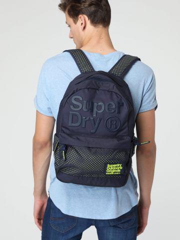 תיק גב לוגו בשילוב רשת