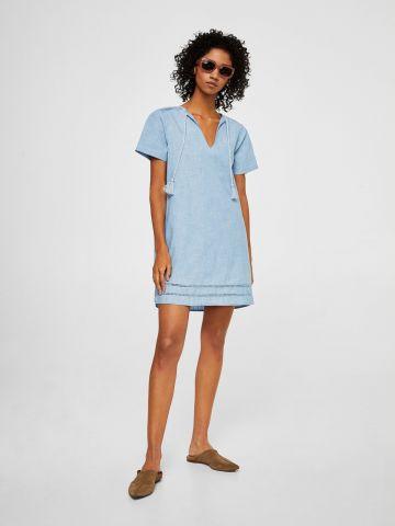 שמלה עם גדילים
