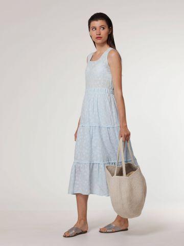 שמלת שלבים מידי בעיטור רקמה