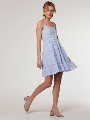 שמלת מיני בעיטור רקמה