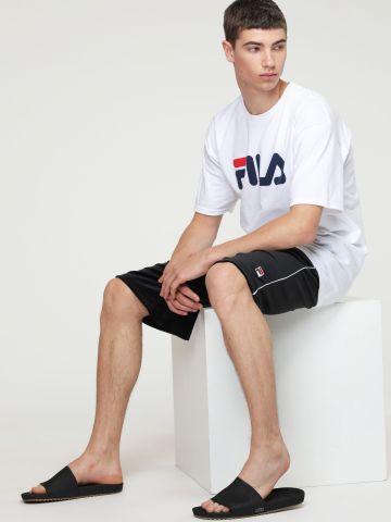 מכנסי טרנינג קצרים קטיפה