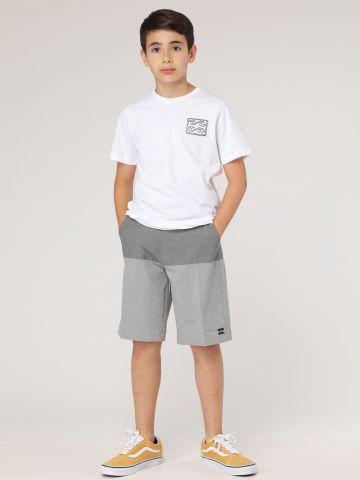 מכנסי ברמודה ווקשורט Crossfire X Print / בנים