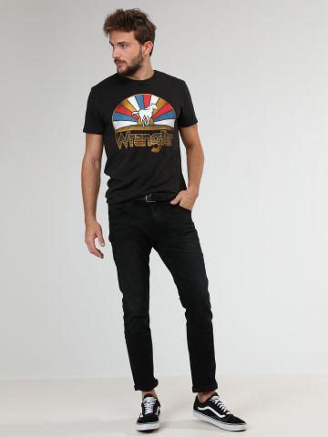ג'ינס בשטיפה כהה Slim fit Larston