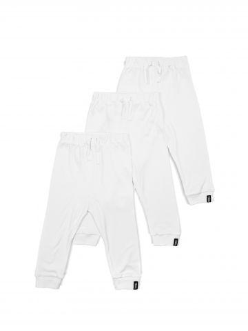 מארז 3 מכנסי טרנינג חלקים / בייבי