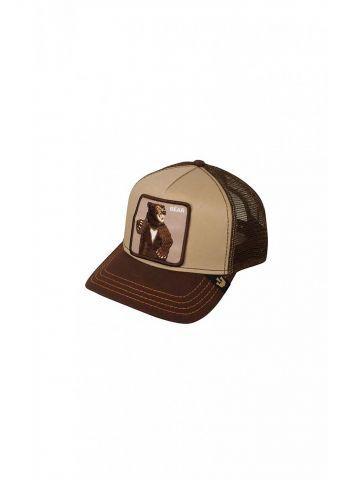כובע מצחייה עם פאץ' דוב גריזלי