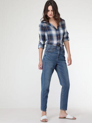 ג'ינס קלאסי בגזרת Mom