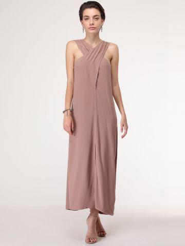 שמלת מקסי איקס בחזית