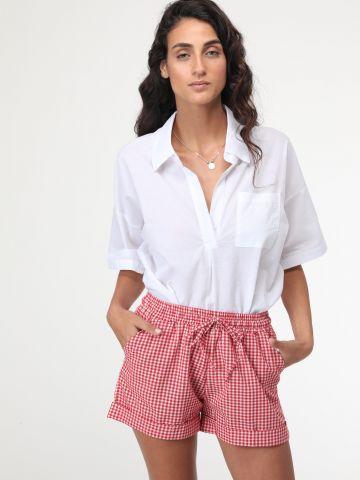 מכנסיים קצרים משבצות