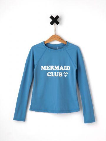 חולצת גלישה Mermaid Club / בנים