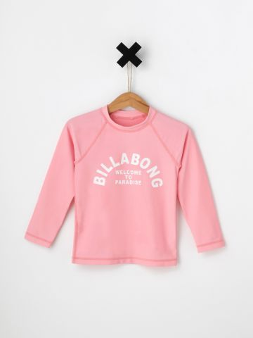 חולצת גלישה לוגו / בייבי בנות