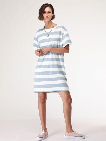 שמלת טי שירט פסים