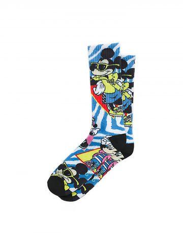 גרביים גבוהים בהדפס מיקי מאוס צבעוני Vans X Disney / גברים