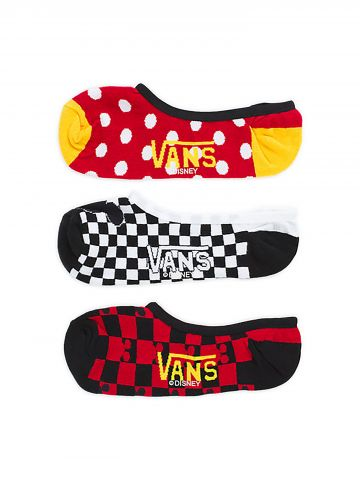 מארז 3 זוגות גרביים נמוכים Vans X Disney / נשים