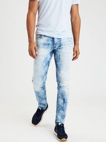 ג'ינס סלים פיט עם הלבנה Ne(X)t Level Flex