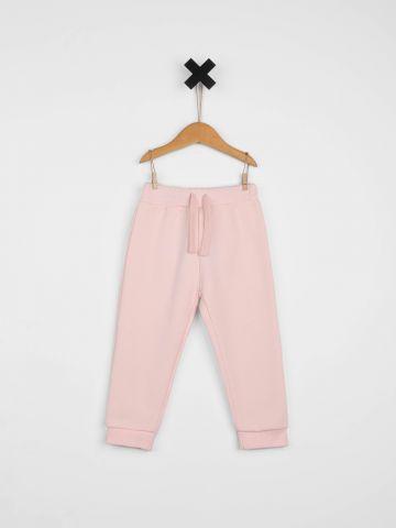 מכנסי טרנינג ארוכים / בייבי בנות