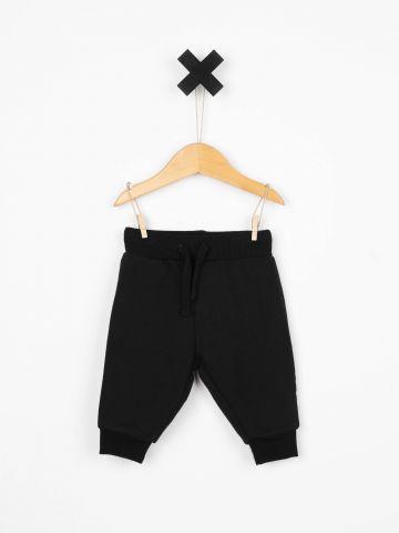 מכנס טרנינג עם שרוכי קשירה / בייבי בנים