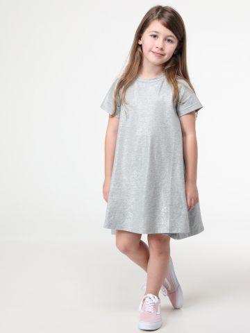 שמלת טי שירט מטאלית