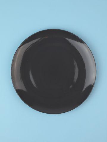 מארז 6 צלחות פורצלן בצבע אפור כהה Fine / עיקרית