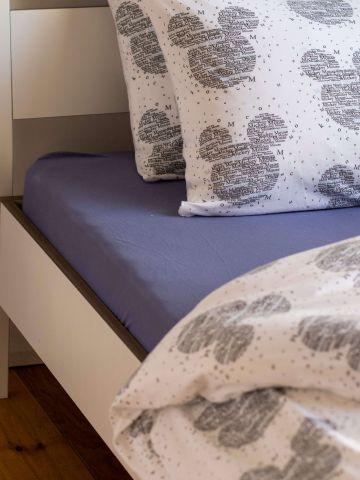 סדין ג'רסי למיטת יחיד / 90X200