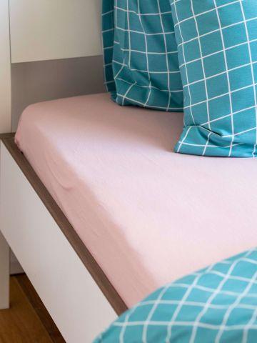 סדין ג'רסי למיטת יחיד / 120X200