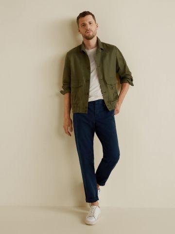 מכנסיים מחוייטים ארוכים