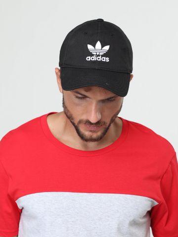 כובע מצחייה עם רקמת לוגו
