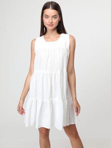 שמלת מיני פפלום קומות