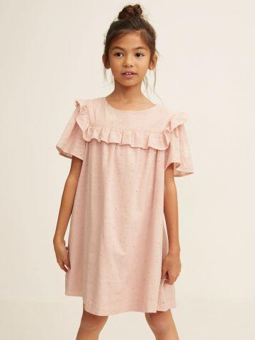 שמלת מיני עם עיטורי מלמלה / בנות