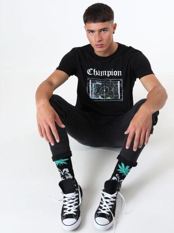 טי שירט מגרש כדורגל Champion