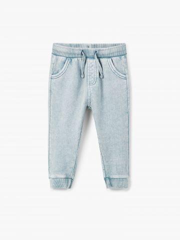 מכנסי טרנינג בסגנון ג'ינס / בייבי בנים