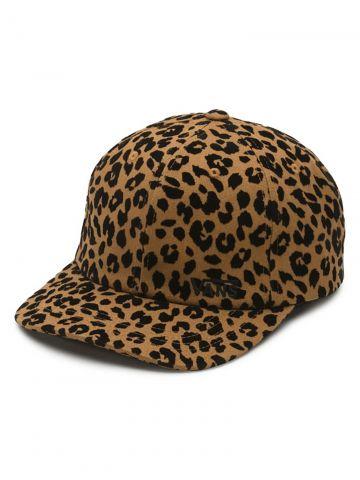 כובע מצחייה בהדפס מנומר