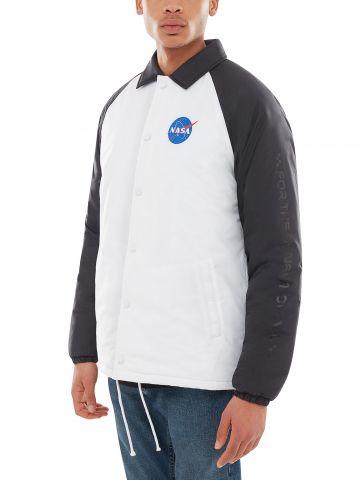 ג'קט ניילון עם הדפסי חלל VANS X SPACE VOYAGER