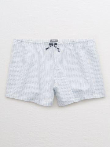 מכנסי פיג'מה בוקסר בהדפס פסים