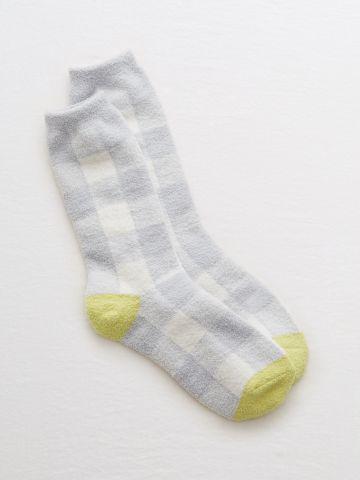 גרביים בדוגמת משבצות / נשים