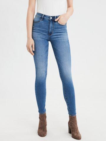 ג'ינס סקיני High waisted jegging