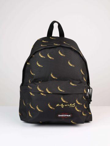 תיק גב בננות עם פאץ' לוגו