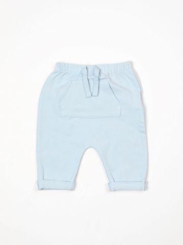 מכנסי טרנינג עם כיס בחזית / בייבי בנים