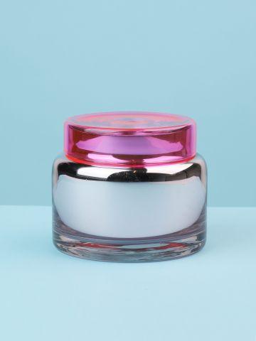 צנצנת אחסון מזכוכית צבעונית Disco