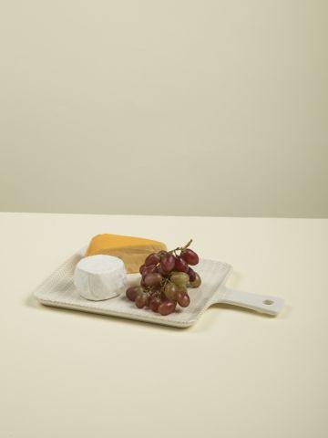 מגש גבינות בהדפס קווים Nature