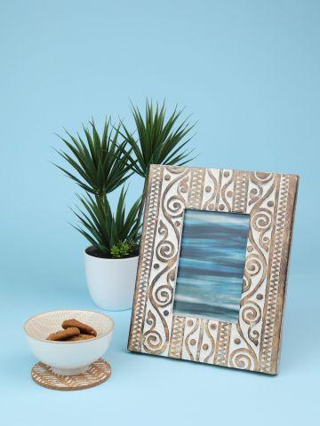 מסגרת עץ לתמונה בסגנון אתני Nature