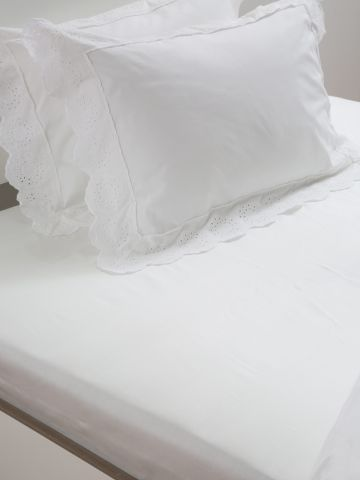 סדין חלק למיטת יחיד / 90X200
