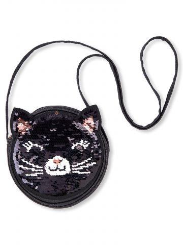 תיק צד חתול פייטים / בנות